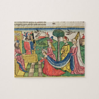 Esther 2 15-18, Esther is chosen to be Queen by th Puzzle