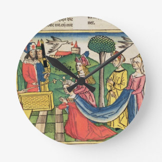 Esther 2 15-18, Esther is chosen to be Queen by th Round Clock