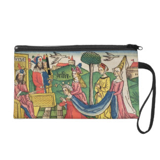 Esther 2 15-18, Esther is chosen to be Queen by th Wristlet Purse