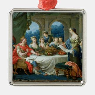 Esther and Ahasuerus, c.1775-80 Metal Ornament