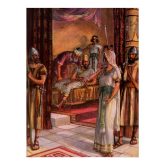 Esther and the King Print