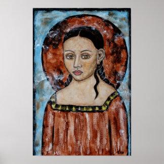 Esther - ángel - poster