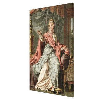 Esther, costume for 'Esther' by Jean Racine, from Canvas Print