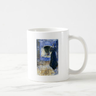 Esther in the Living Room 1907 Coffee Mug