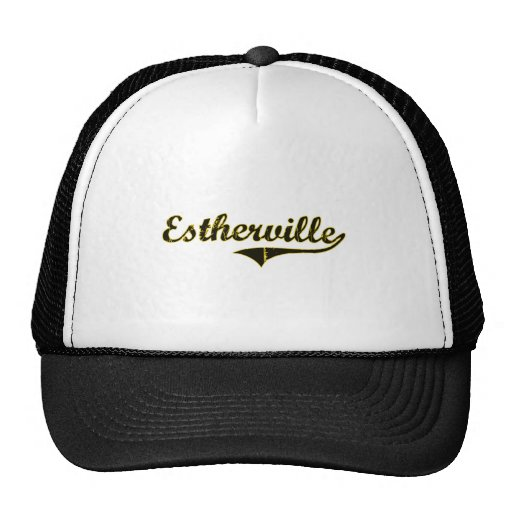 Estherville Iowa Classic Design Trucker Hats