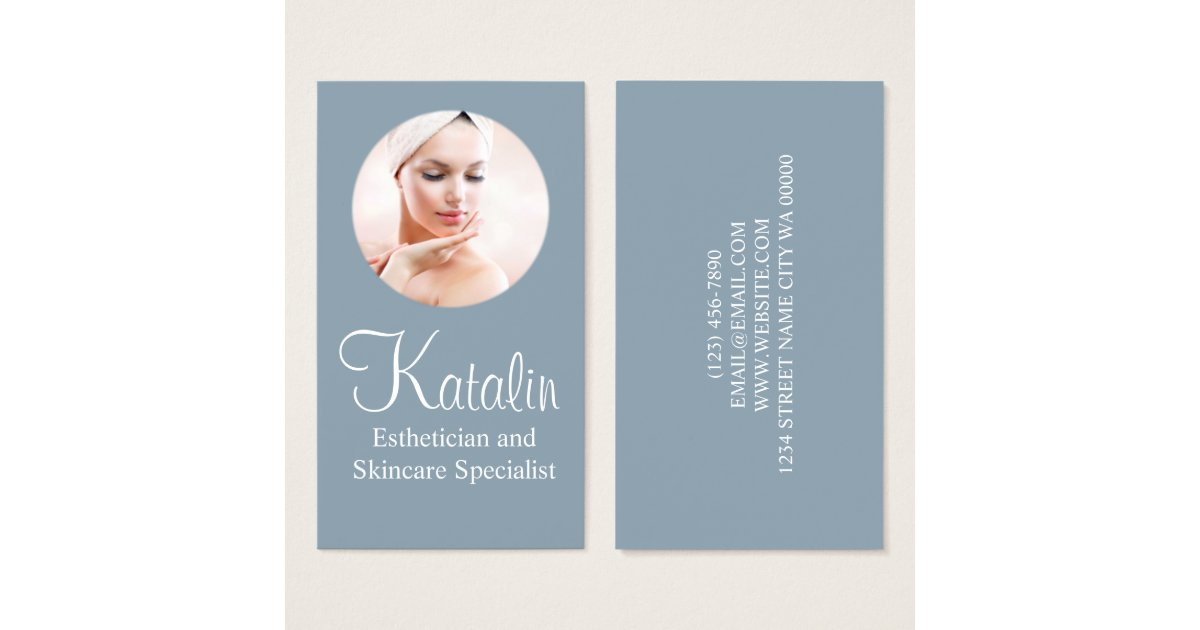Skin care business card - Maple suyrup diet