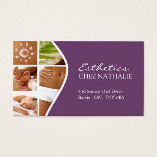 Esthetician ~ Business Card