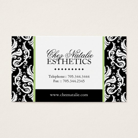 Esthetician Business Card