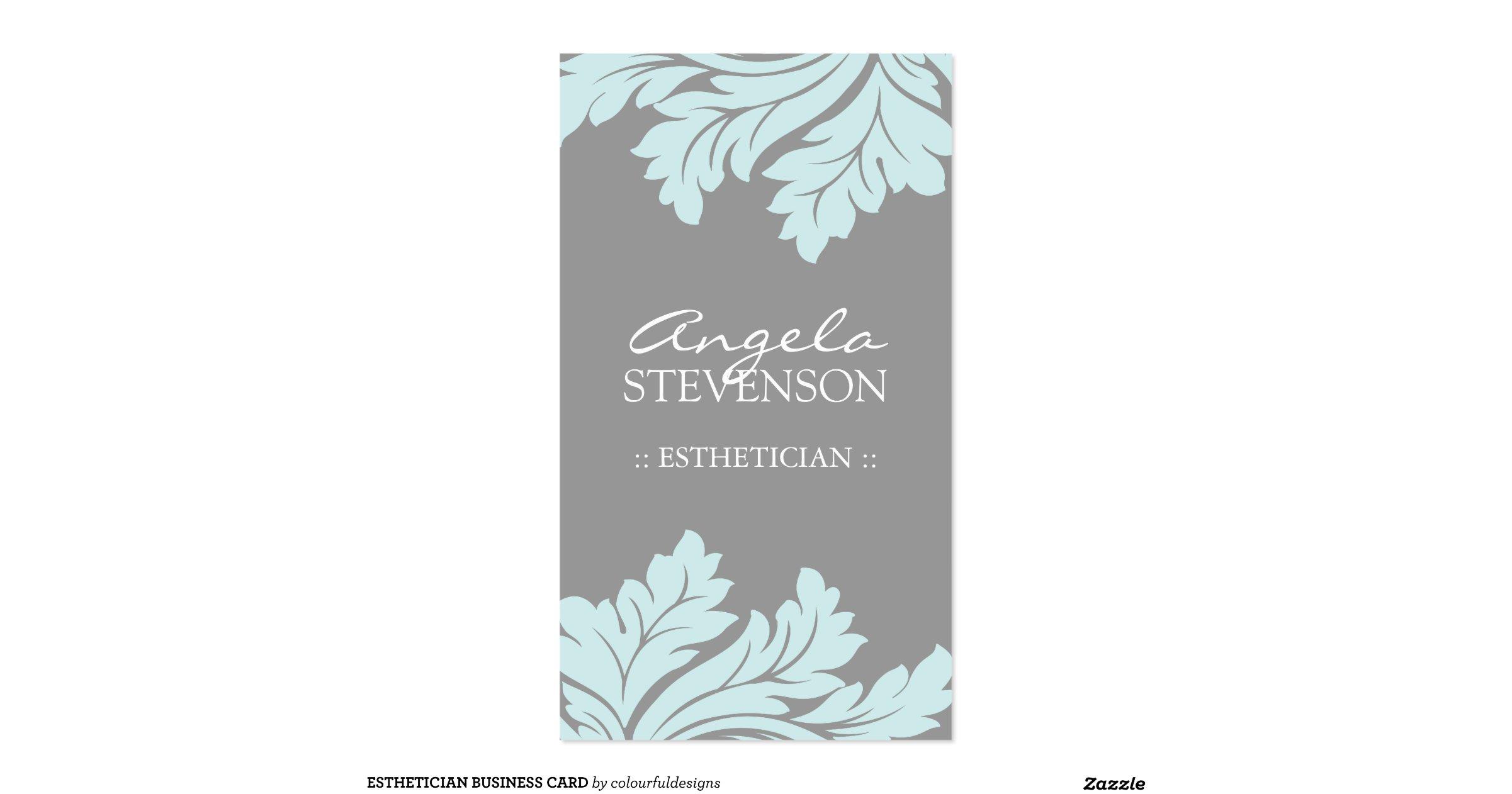Luxury Pics Esthetician Business Cards Business Cards Design
