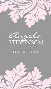 Esthetics business cards templates zazzle esthetician business card colourmoves