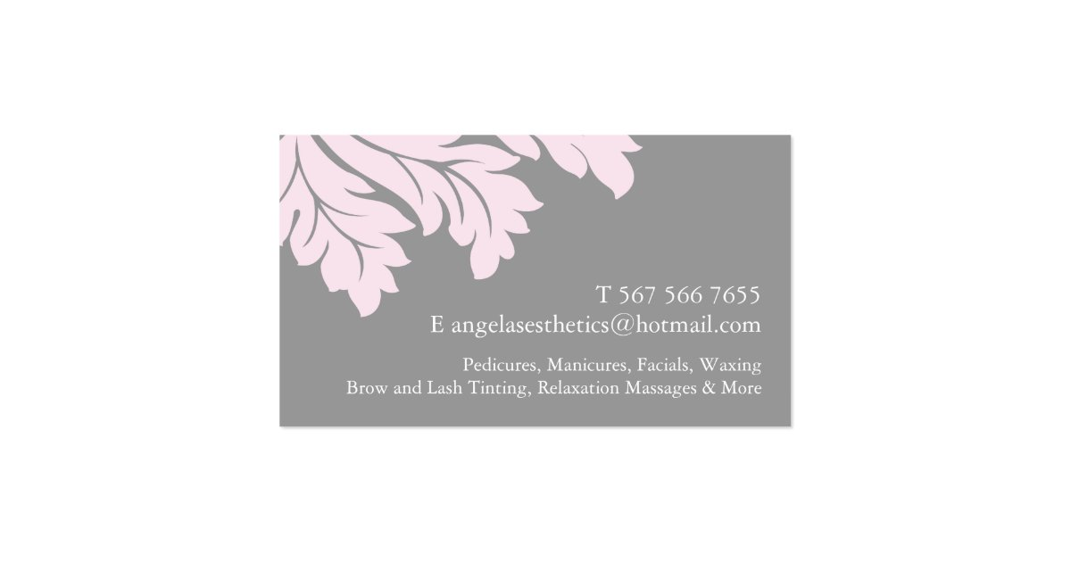 ESTHETICIAN BUSINESS CARD