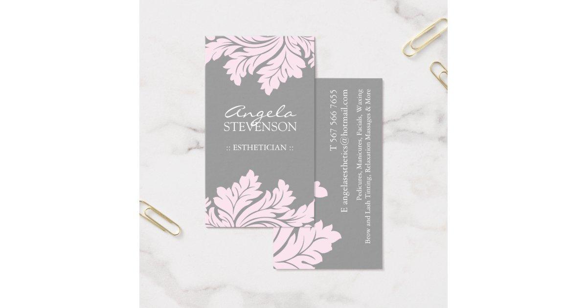 Esthetician Business Card Zazzle