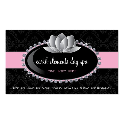 Esthetician business card templates zazzle for Esthetician business card