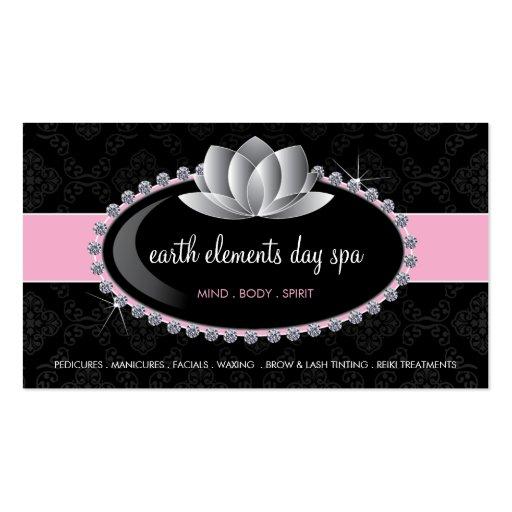 esthetician business card templates zazzle. Black Bedroom Furniture Sets. Home Design Ideas