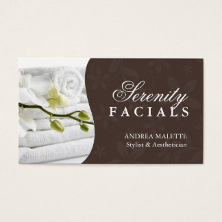 massage therapist aesthetician business cards amp templates