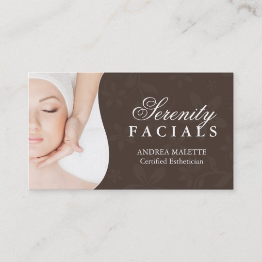 Esthetician business cards zazzle esthetician business cards colourmoves