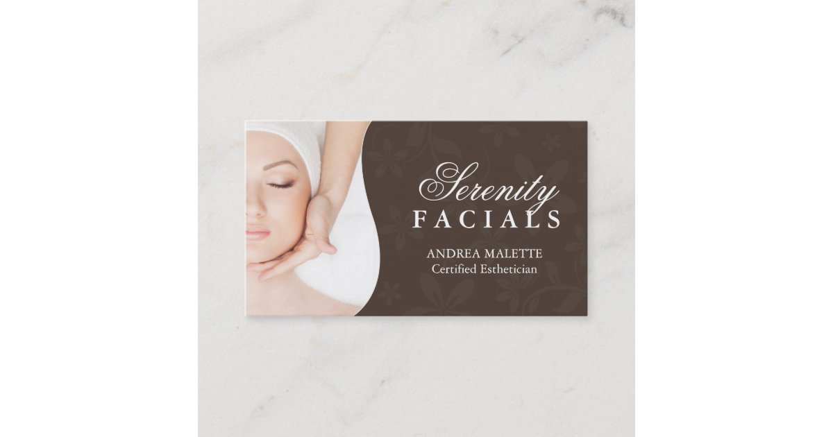 Perfect Esthetician Business Cards Gallery - Business Card Ideas ...