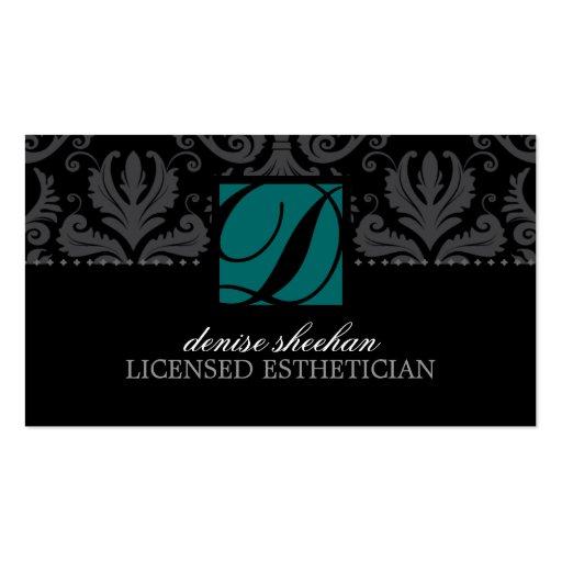Esthetician business cards zazzle for Esthetician business card