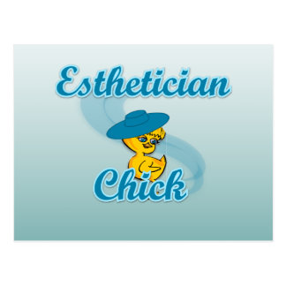 Esthetician Chick #3 Postcard