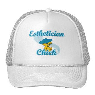 Esthetician Chick #3 Trucker Hat