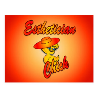 Esthetician Chick #5 Postcard