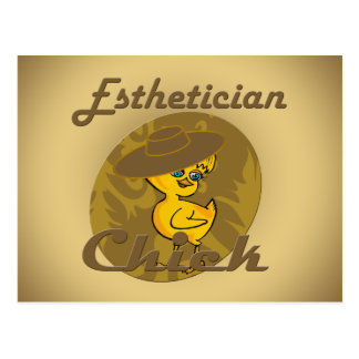 Esthetician Chick #6 Postcard
