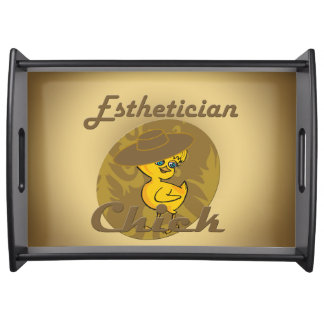 Esthetician Chick #6 Serving Trays