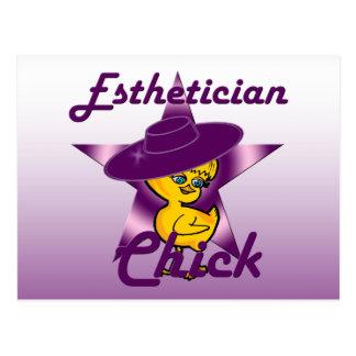 Esthetician Chick #9 Postcard