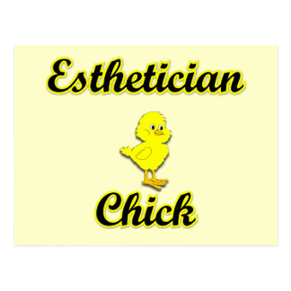 Esthetician Chick Postcard