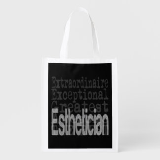 Esthetician Extraordinaire Reusable Grocery Bag