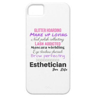 Esthetician for life iPhone SE/5/5s case