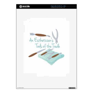 Estheticians Tools iPad 2 Skins