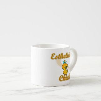 Esthitician Chick Espresso Cup
