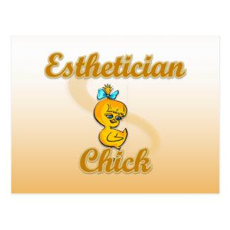 Esthitician Chick Postcard