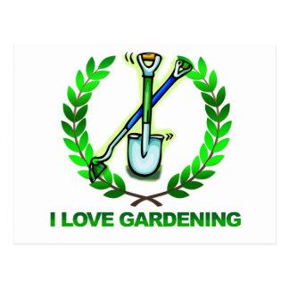 Estiércol vegetal del iGuide que cultiva un huerto Postales