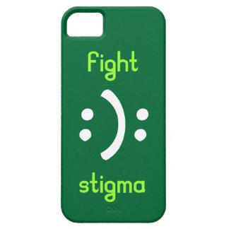 Estigma bipolar de la lucha iPhone 5 funda