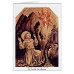 Estigmatización de St Francis Tarjeta De Felicitación