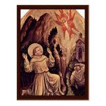 Estigmatización de St Francis Tarjetas Postales
