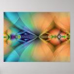 Estilete - arte del fractal impresiones