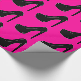 Estilete de encargo del negro del color papel de regalo