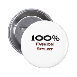 Estilista de la moda del 100 por ciento pin redondo de 2 pulgadas