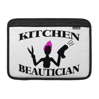 Estilista del Beautician de la cocina en casa Funda Para Macbook Air