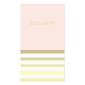 Estilista del boutique del rosa y del planificador tarjeta de visita