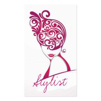 Estilista, pelo, salón de belleza, Cosmetologist, Tarjetas De Visita