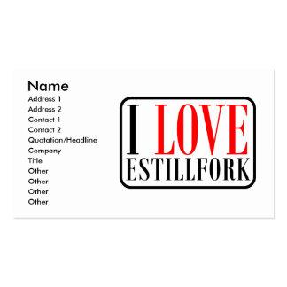 Estillfork, Alabama Double-Sided Standard Business Cards (Pack Of 100)