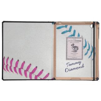 Estilo 1 de Baseball_Color Laces_fu_tl_autograph iPad Carcasa