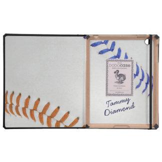 Estilo 1 de Baseball_Color Laces_fu_tl_autograph iPad Cárcasa
