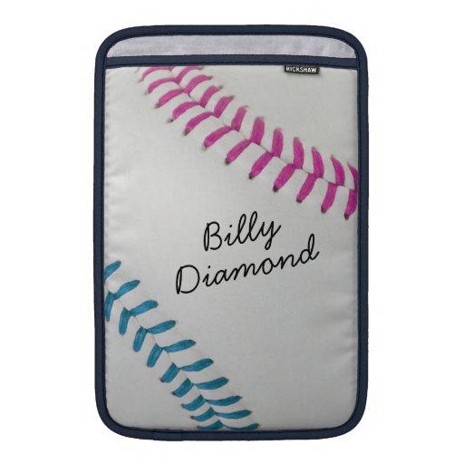 Estilo 1 de Baseball_Color Laces_fu_tl_autograph Fundas Macbook Air