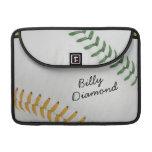 Estilo 1 de Baseball_Color Laces_go_gr_autograph Funda Macbook Pro