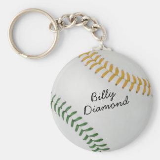 Estilo 1 de Baseball_Color Laces_go_gr_autograph Llaveros Personalizados